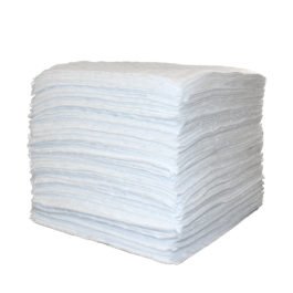Recycled Heavyweight Oil Absorbent Pads