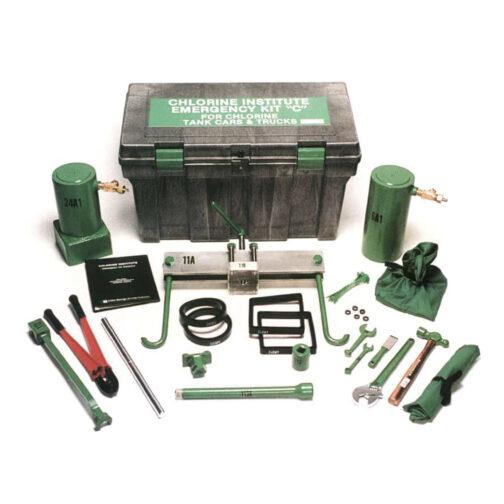 tank car truck emergency kit c chlorine institute hazmat resource