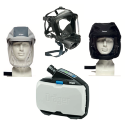 Draeger X-plore 8000 Powered Air-Purifying Respirator (PAPR)