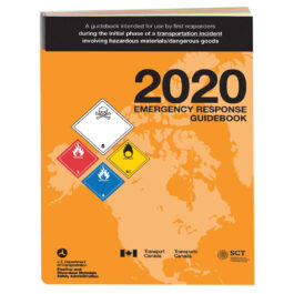 Emergency Response Guidebook 2020 – 4.5″ x 5.5″, Softbound