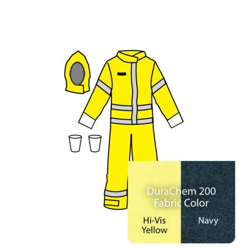 durachem 200 coveralls d2h443 9212 cp kappler hazmat resource